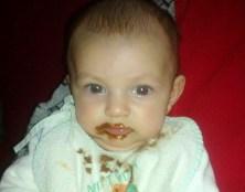 Čokoládové dieťa, autor Vierka