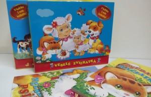 Knihy pre deti v kufríku