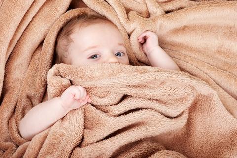 Spánok Dieťaťa, licencovaná foto