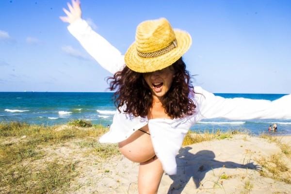 Tehotenstvo, dovolenka, šťastie