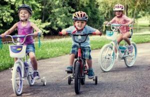 Bicykel deti