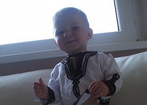 Chlapec Sebastian, autor Martina T.