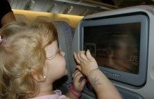 Dieťa v lietadle, autor Veronika