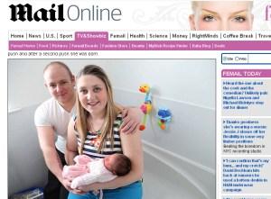 Rodičia, pôrod nechtiac do vane