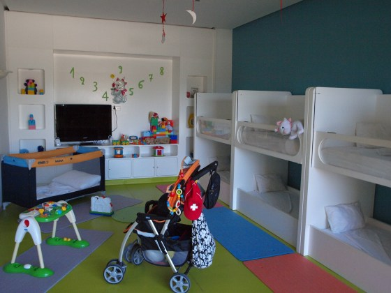 hotel Movenpick a detské centrum