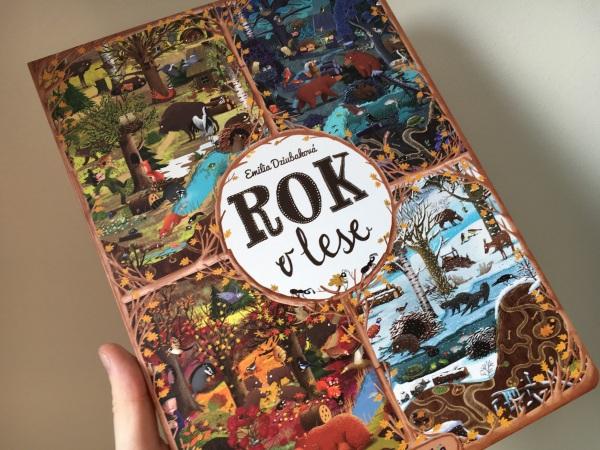 Rok v lese, ilustrovaná kniha